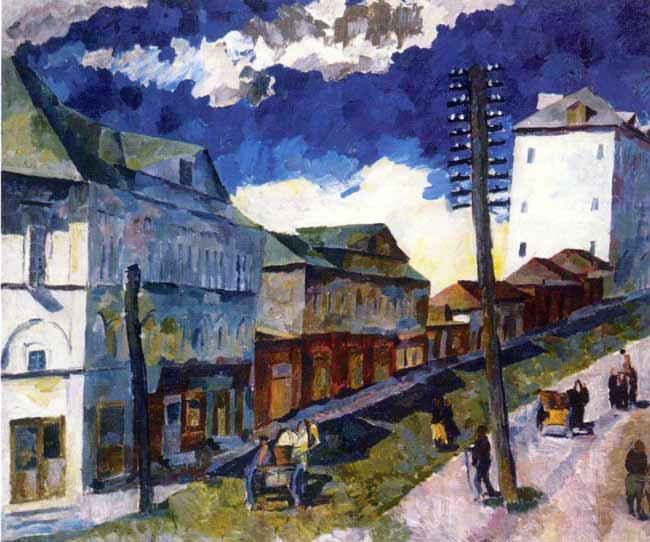 Lentulov-It,s a street in the town-Лентулов-Улица