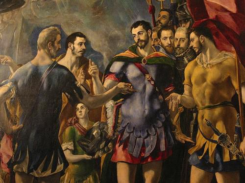 El Greco The Martyrdom Of St Maurice And The Theban 1580-82-Греко