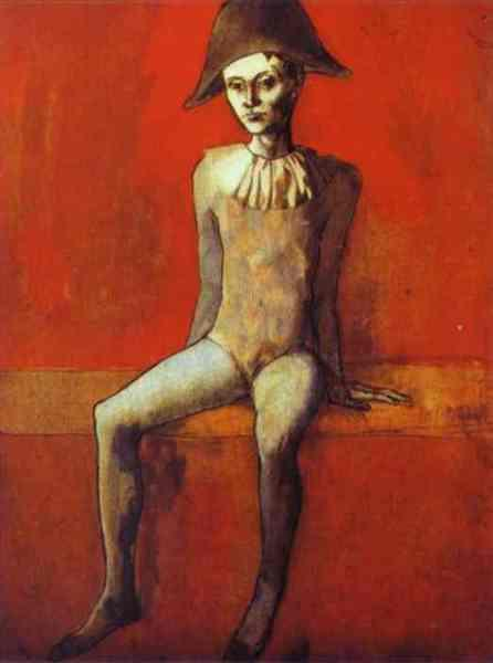 1905-Picasso-It's the sitting-Пикассо-Сидящий