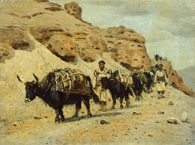 Drawing-Vereshchagin-There are Yakies-Яки