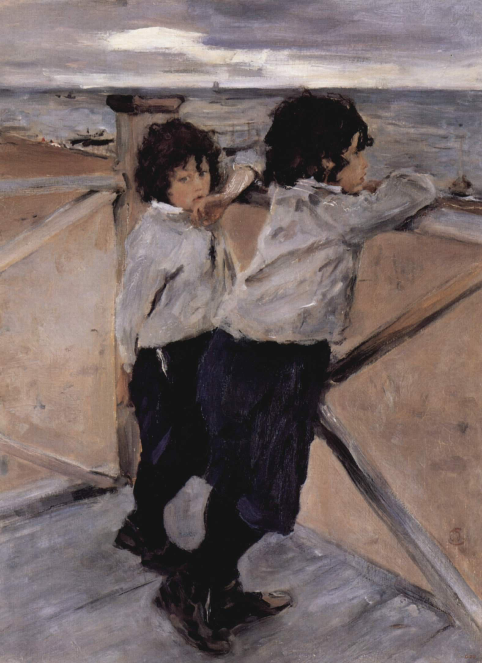 1899-Serov-They are lads-Серов-Мальчики