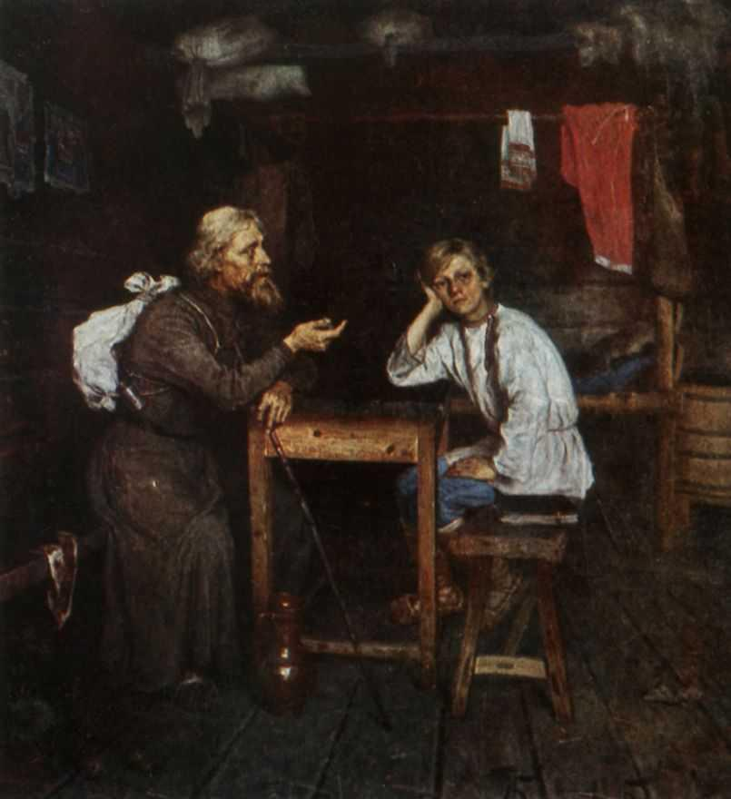 1889-Bogdanov-Belsky-It's a future inok-Будущий инок