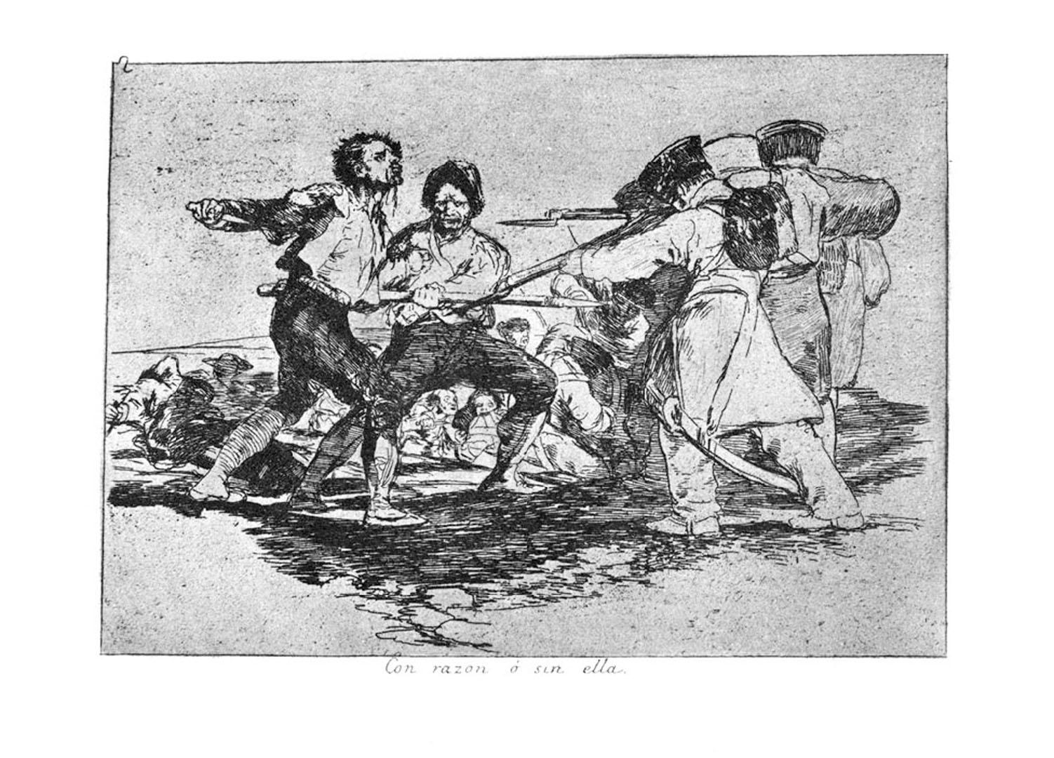 Goya Гойя-with-or-without-reason-from-the-disasters-of-war ДЕЗАСТРОС