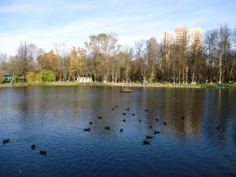 Октябрь в России