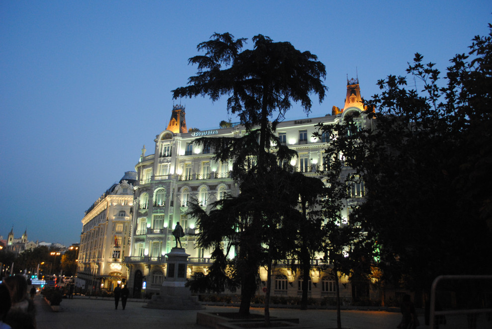 Прогулки по Испании-Мадрид ночной